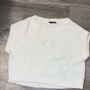 AS IS Rag & Bone Sleeveless White Sweater